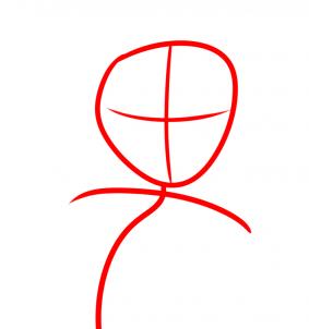 рисуем Моану из мультика