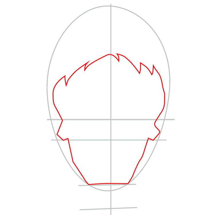 Как нарисовать значок Джокера из фильма