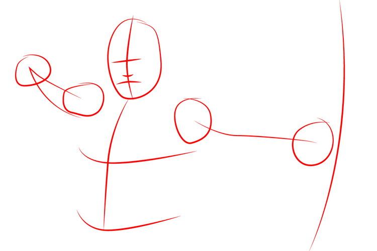 как нарисовать Зеленую стрелу