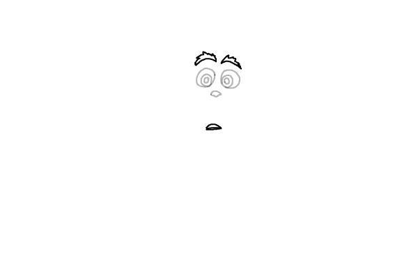 Как нарисовать маленького Гринча 3