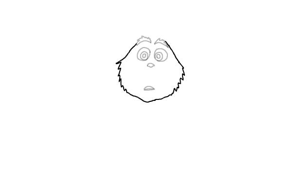 Как нарисовать маленького Гринча 4