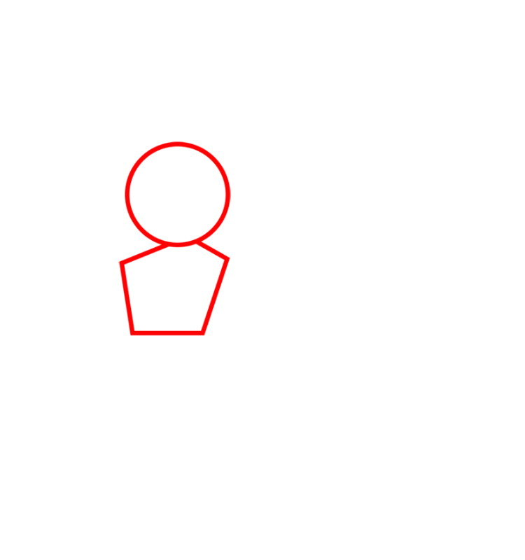 как нарисовать Целительницу из Клэш оф кленс