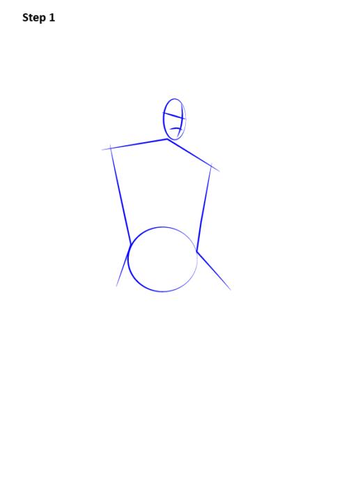 как нарисовать Карателя