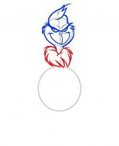 Как нарисовать Гринча