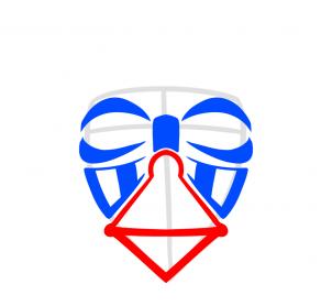 как нарисовать шлем дарта вейдера