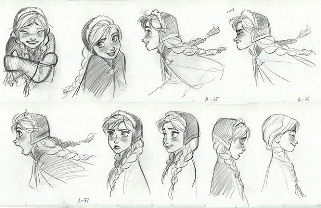Эмоции Анны из Холодного сердца