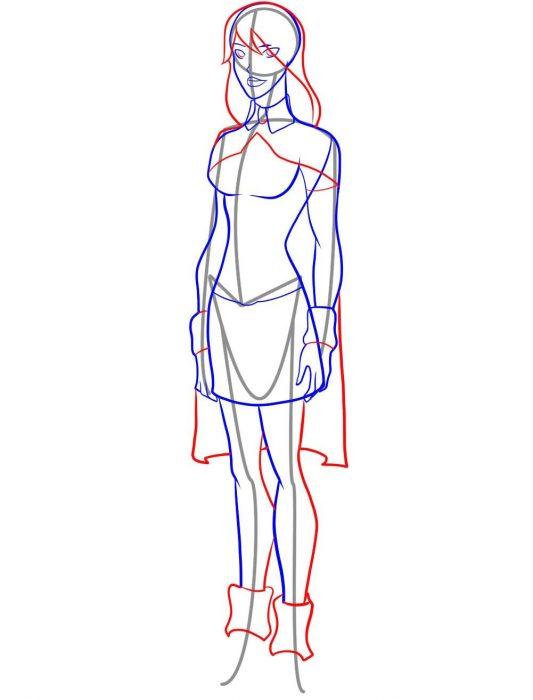 Как рисовать мисс Марсианку