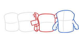 как нарисовать мстителей