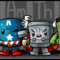 Рисуем Мстителей как элементы
