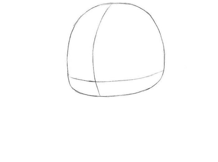 Как нарисовать Флеша в стиле чиби 1