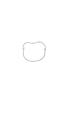 Как поэтапно нарисовать Балонбоя 1