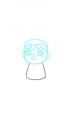 Как поэтапно нарисовать Балонбоя 3
