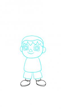Как поэтапно нарисовать Балонбоя 5