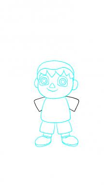 Как поэтапно нарисовать Балонбоя 6
