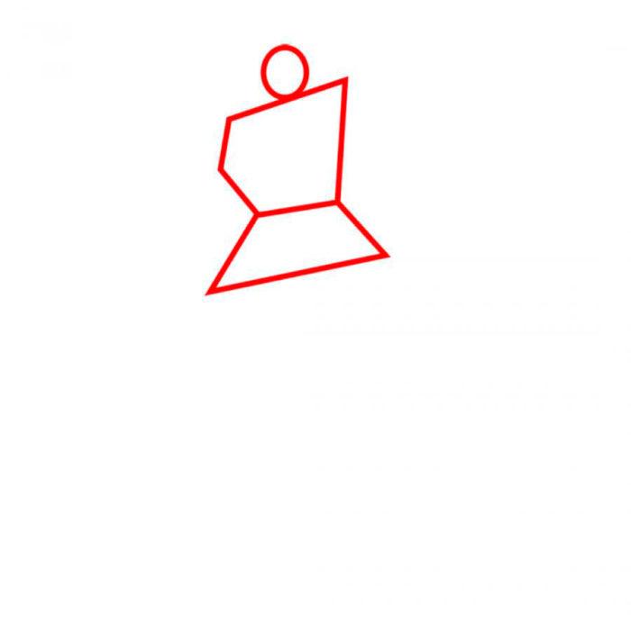 как нарисовать робота Бамблби