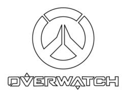 Рисуем логотип Овервотч