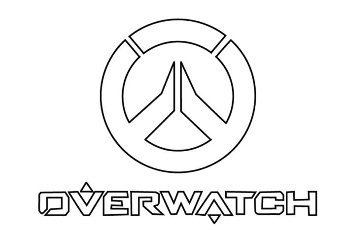 рисуем логотип Оветвотч
