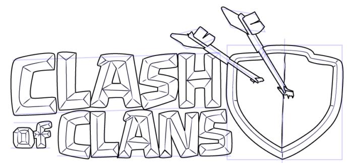 Раскраски с персонажами Clash Royal