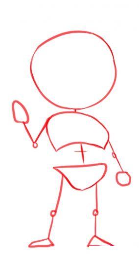 Как нарисовать Шепрада из Масс Эффект