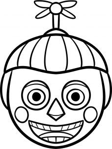 как нарисовать мальчика с шарами