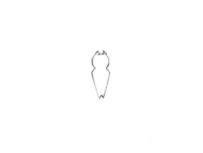 как нарисовать знак Человек Паук