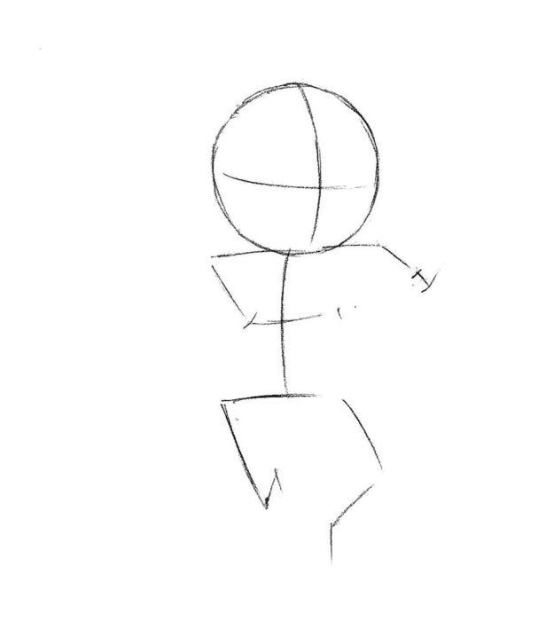 Как нарисовать Реактивного Енота