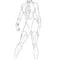 Как нарисовать Китану из игры