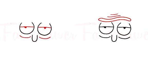 Как нарисовать Рика из сериала Рик и Морти