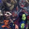 Рисуем героев Стражей Галактики