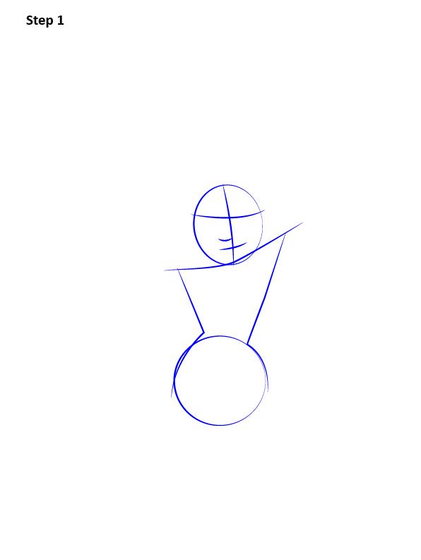 Как поэтапно нарисовать Чудо-женщину