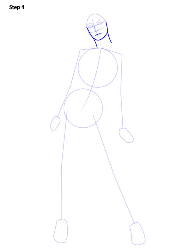 Как нарисовать Чудо женщину