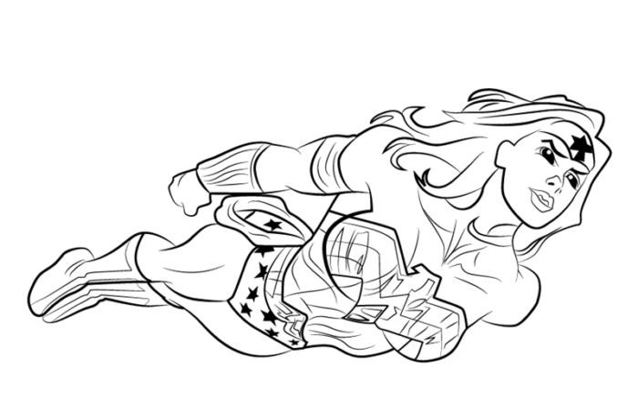 Как нарисовать Чудо-женщину из комиксов DC Comics