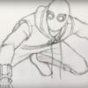 Рисуем Человека Паука из фильма