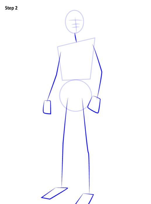 Как рисовать Человека Паука из фильма 2