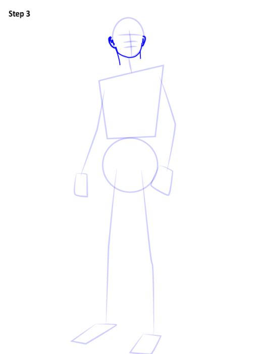 Как рисовать Человека Паука из фильма 3