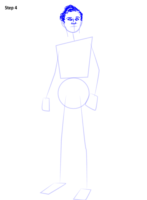 Как рисовать Человека Паука из фильма 4