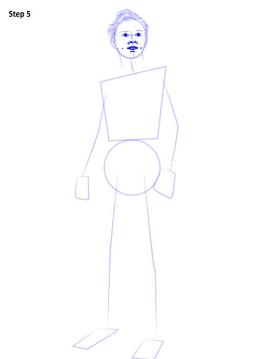Как рисовать Человека Паука из фильма 5