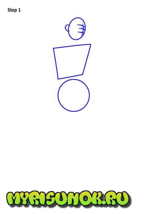 Как нарисовать Элой