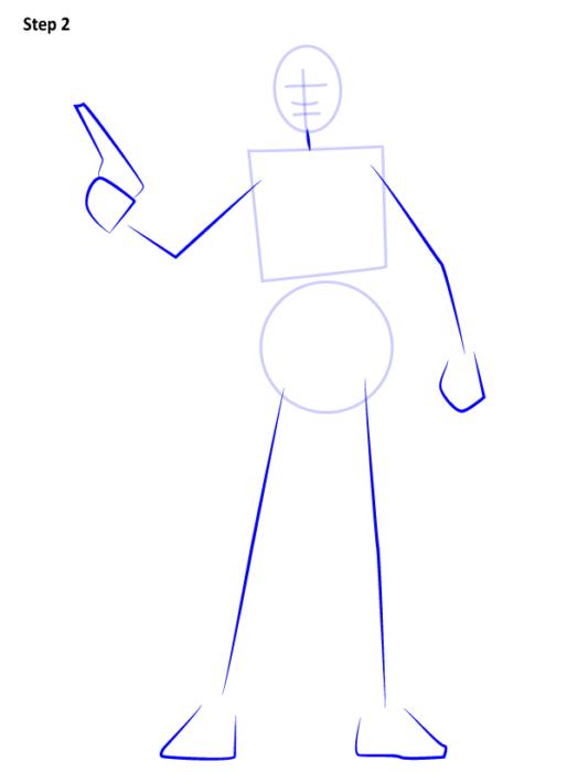 Как нарисовать Джин Эрсо