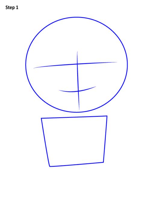 Как нарисовать Грю из мультфильма 1
