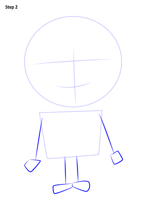 Как нарисовать Грю из мультфильма 2