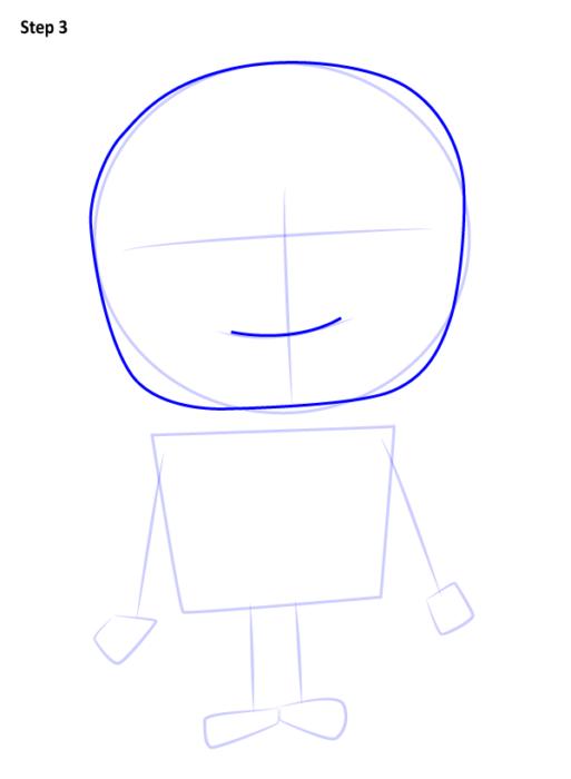 Как нарисовать Грю из мультфильма 3