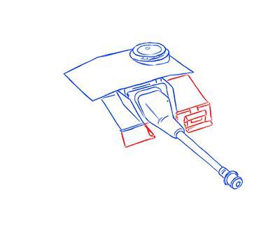 Как нарисовать немецкий StuG III