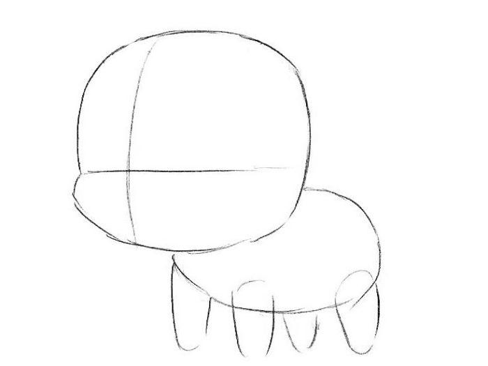 Как поэтапно нарисовать единорога 2