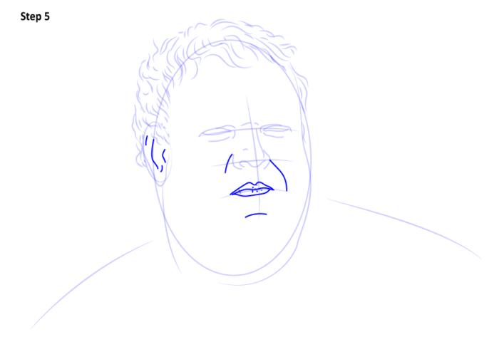 как рисовать Ходора