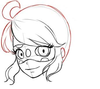 Как рисовать Леди Баг из мультика