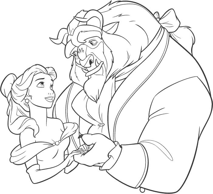 Скачать раскраску принцессы
