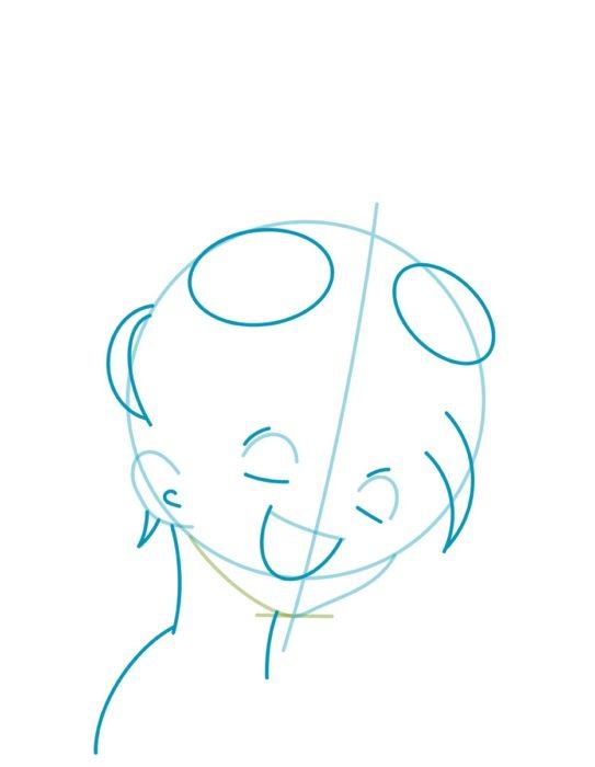 как нарисовать Эмму из манги Обещанный Неверленд