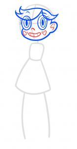 Как нарисовать Звёздочку Баттерфлай