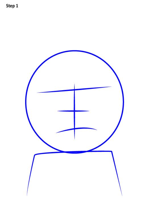 Как просто нарисовать злого Морти